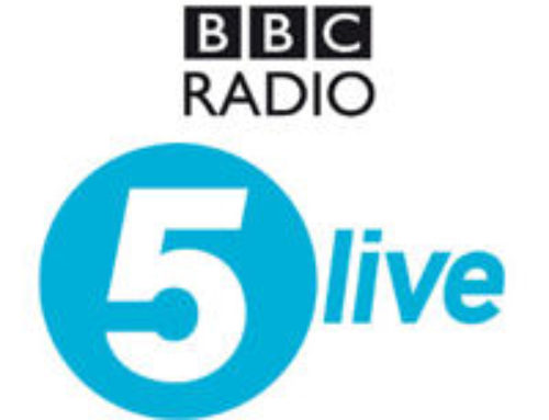 BBC Five Live with Patrick Gregory